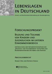 Lebenslagen in Deutschland - Bundesministerium für Arbeit und ...