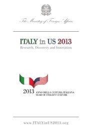 2013 national program of events - Italy Culture Month