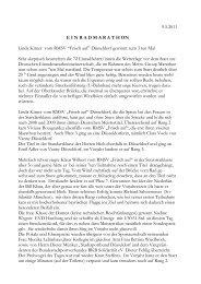 Bericht von unserem Pressewart Werner Schmitt hier klicken