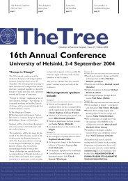 The Tree 19 - Academia Europaea