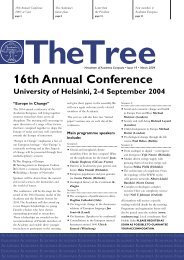The Tree 19 - Academia Europaea