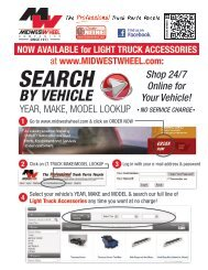 DCI Search by Vehicle 06/25/2013 - Midwest Wheel Companies