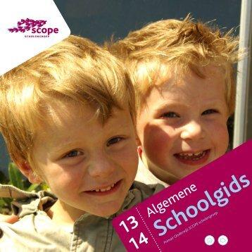 Open hier de algemene schoolgids SCOPE (pdf)