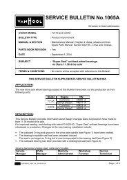 SERVICE BULLETIN No.1065A - ABC Companies