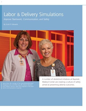 Labor & Delivery Simulations - Baystate Health