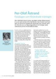 Per-Olof Åstrand - fysiologen som förändrade träningen (2013) - GIH