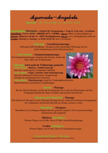 Aktuelle Flyer als PDF zum herunterladen! - Yoga Vidya