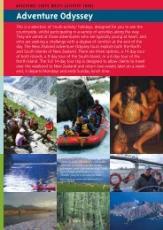 This is a selection of 'multi-activity' holidays ... - Adventure South