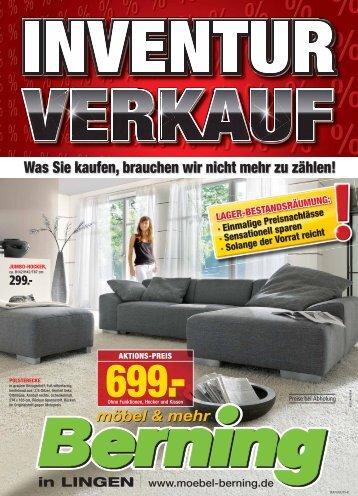 inventur verkauf - Möbel Berning