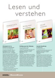 Cholesterin & Co Richtig essen bei Diabetes Gesund abnehmen