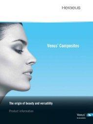 Venus Product Information (PDF) - Heraeus
