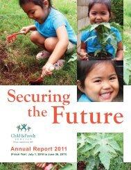 Annual Report 2011 - Child & Family Service