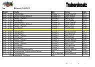 Trainingseinteilung [69.0 KB] - VfL Waiblingen