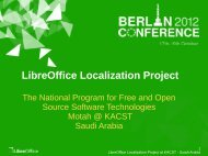 LibreOffice Localization Project - LibreOffice Conference