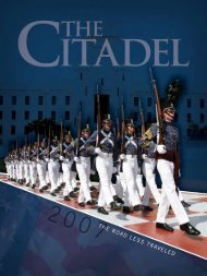 THE ROAD LESS TRAVELED - The Citadel