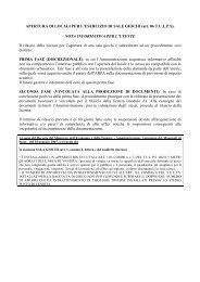 APERTURA DI LOCALI PER L'ESERCIZIO DI SALE GIOCHI (art. 86 ...