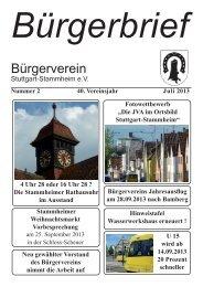 BB 02 13 A 4.indd - Bürgerverein Stuttgart-Stammheim