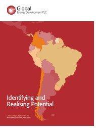 Annual Report 2005 - Global Energy Development