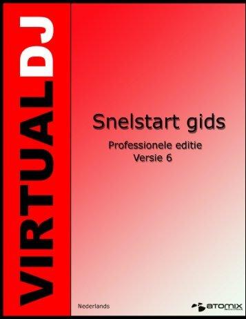 Snelstart gids – Installatie (PC) - Virtual DJ