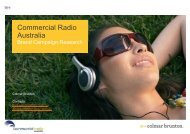2012 Research Presentation - Commercial Radio Australia
