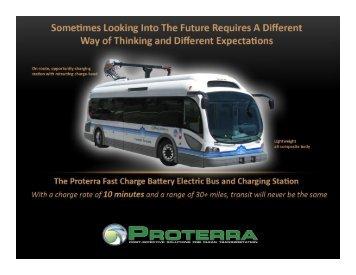 Hybrid Fuel Cell Bus Technology, Joshua Goldman, Proterra