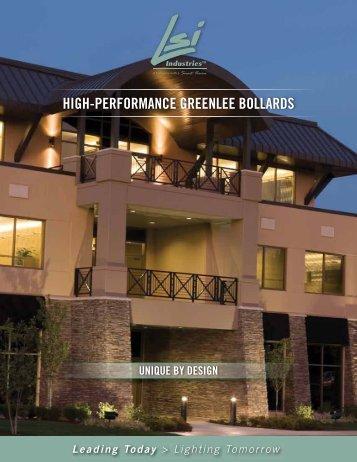 LED High Performance Greenlee Bollards - LSI Industries Inc.