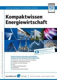 Kompaktwissen Energiewirtschaft - PKF