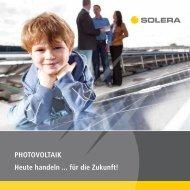 Solera GmbH Broschüre