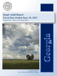 Single Audit Report Fiscal Year Ended June 30, 2012 - State ...