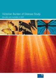 Victorian Burden of Disease Study - Vegetable Growers Association ...