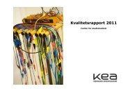 Kvalitetsrapport 2011 - KEA