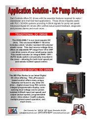 metering pump applications - Dart Controls