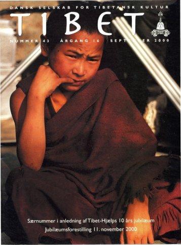 tibet_43_2000 - Dansk Selskab for Tibetansk Kultur