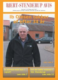Ib Olesen takker af efter 34 år - Bjert Stenderup Net-Avis