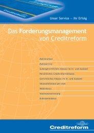 Das Forderungsmanagement von Creditreform