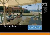 Brochure Café au lä - Promozone