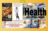 Central FLA Referral Book - Health-referral.com