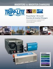Inverters & Inverter/Chargers - Tripp Lite