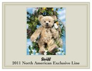 2011 North American Exclusive Line - Mostly Bears