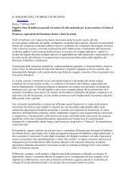 linee di indirizzo generali ed azioni a livell - Unione degli Assessorati