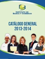Catálogo 2013 - 2014 Español - Instituto de Banca y Comercio