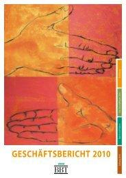 Geschäftsbericht 2010 - BBT GmbH