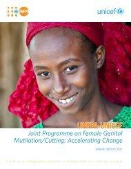 Joint Programme on Female Genital Mutilation/Cutting - UNFPA