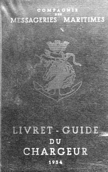 Livret du chargeur - French Lines