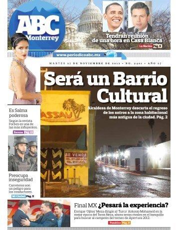 Final MX ¿Pesará la experiencia? - Periodicoabc.mx