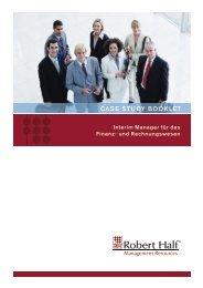 CASE STUDY BOOKLET - Robert Half