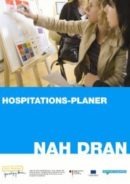 Hospitationsplaner - Ganztägig Lernen.
