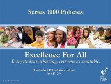 Seattle public schools homework policy teachers