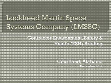 Courtland - Lockheed Martin