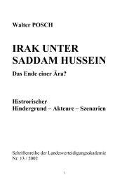 ROOT CAUSES – 3 DIMENSIONS - Österreichs Bundesheer